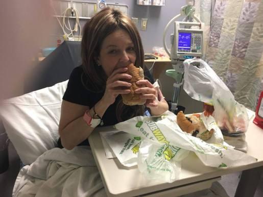 NOMNOMNOM my appetit post-chemo is back!