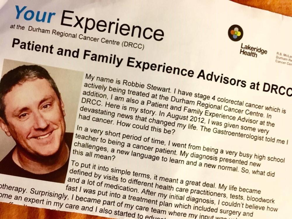 Chemo 16 Experience Advisor