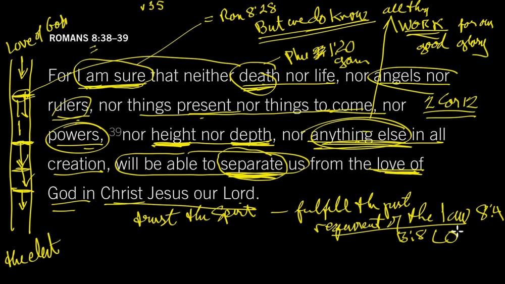 Romans 8 38 39